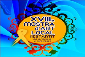 Inauguració de la mostra d'art local l'Estartit – Desembre 2019
